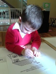 Lucas coloring