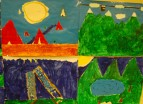 year 4 paintings