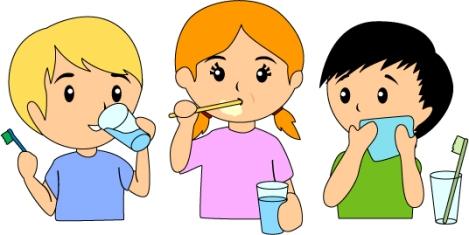 children-brushing-teeth