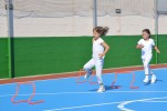 girls doing hurdles