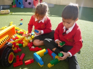 Building houses like the Three Little Pigs